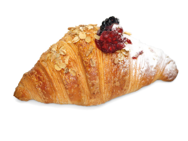 Croissant 5 cereali ai frutti rossi