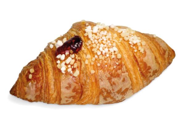 Croissant ai frutti rossi