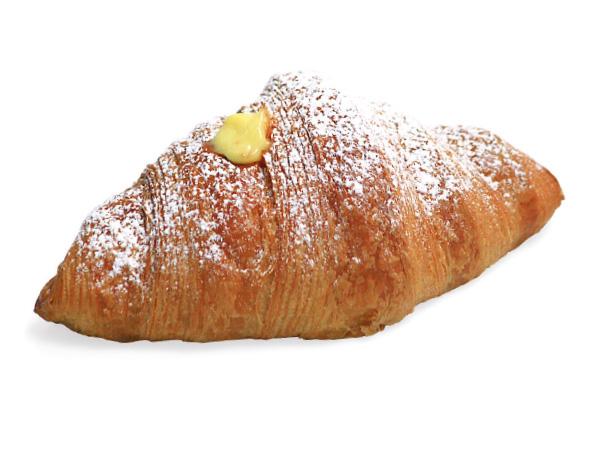 Croissant alla crema
